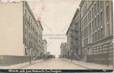 184th St., East from Wadsworth Ave, N.Y.