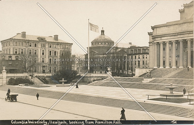 Columbia University, From Hamilton Hall, N.Y.