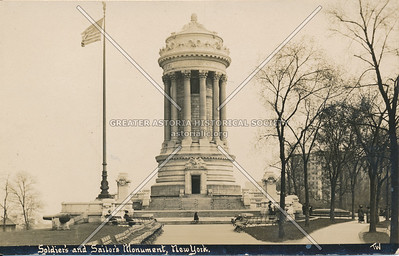Soldier's and Sailor's Monument, N.Y.