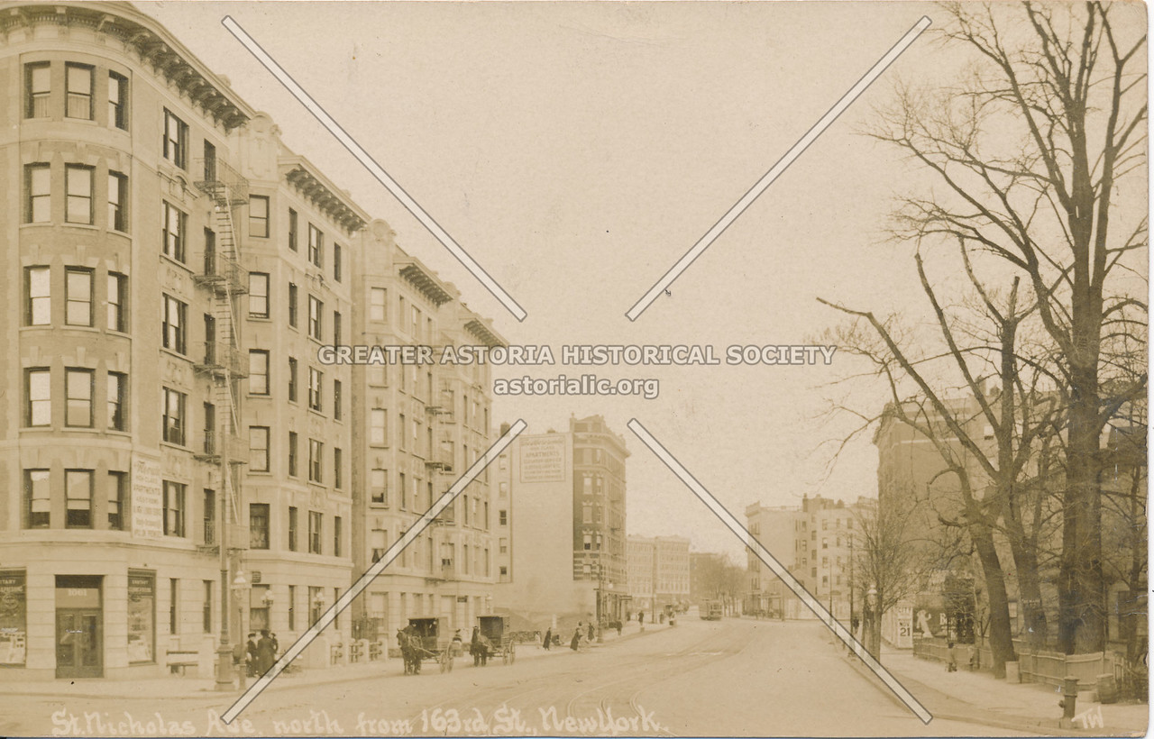 St. Nicholas Ave, North from 163rd St., N.Y.