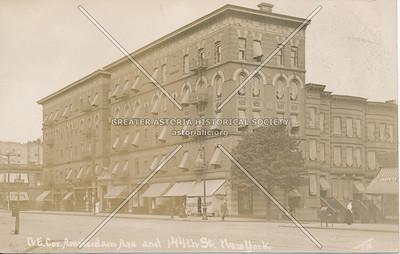 N.E. Cor. Amsterdam Ave & 144th St., N.Y.
