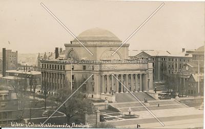 Library, Columbia University, N.Y.