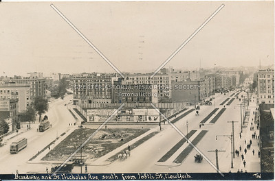Broadway & St. Nicholas Ave, South from 168th St., N.Y.