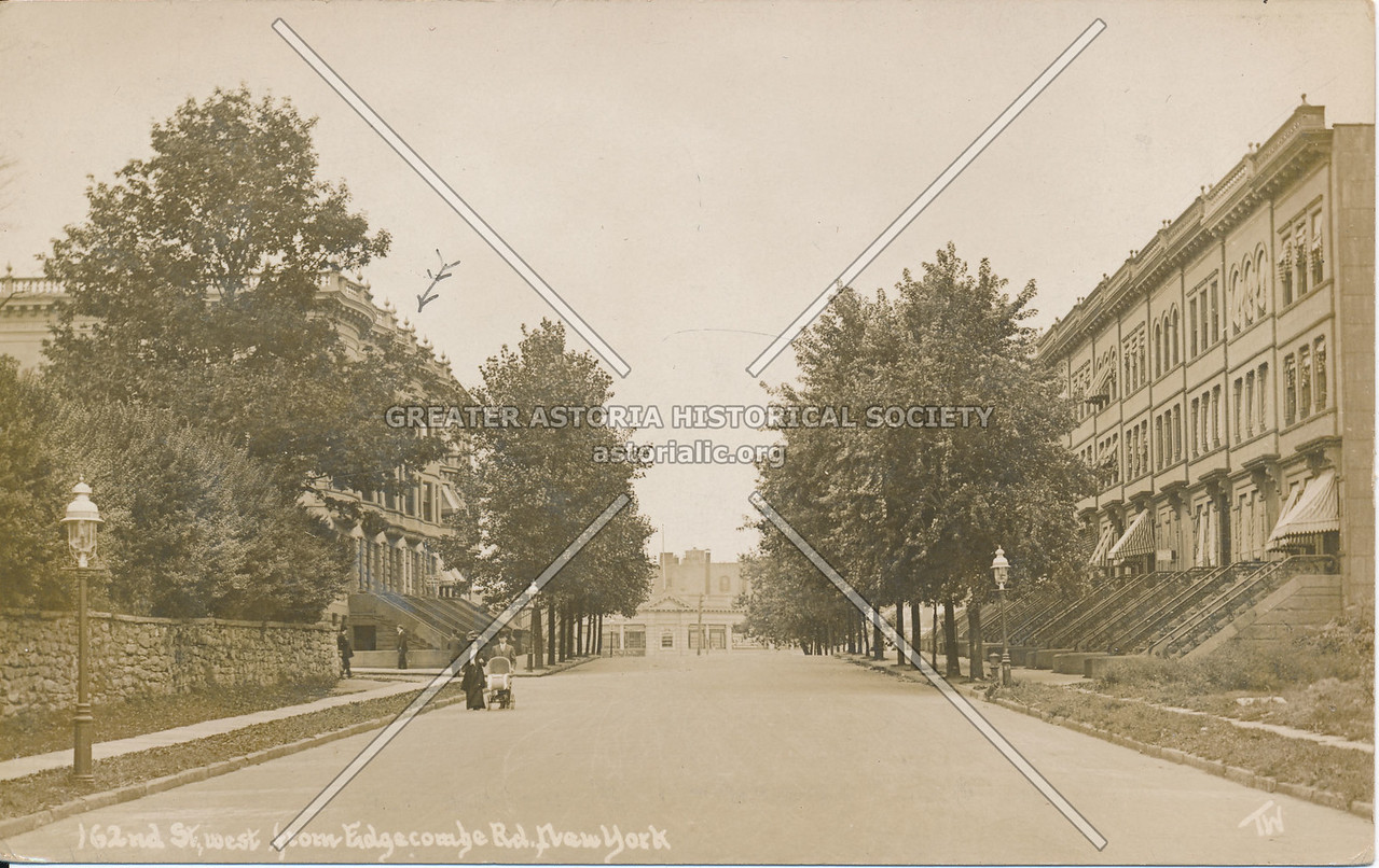 162nd St., West from Edgecombe Ave, N.Y.