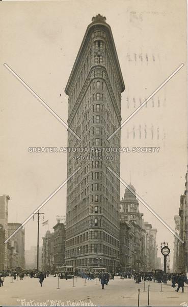 """""""Flatiron"""" Building, N.Y."""