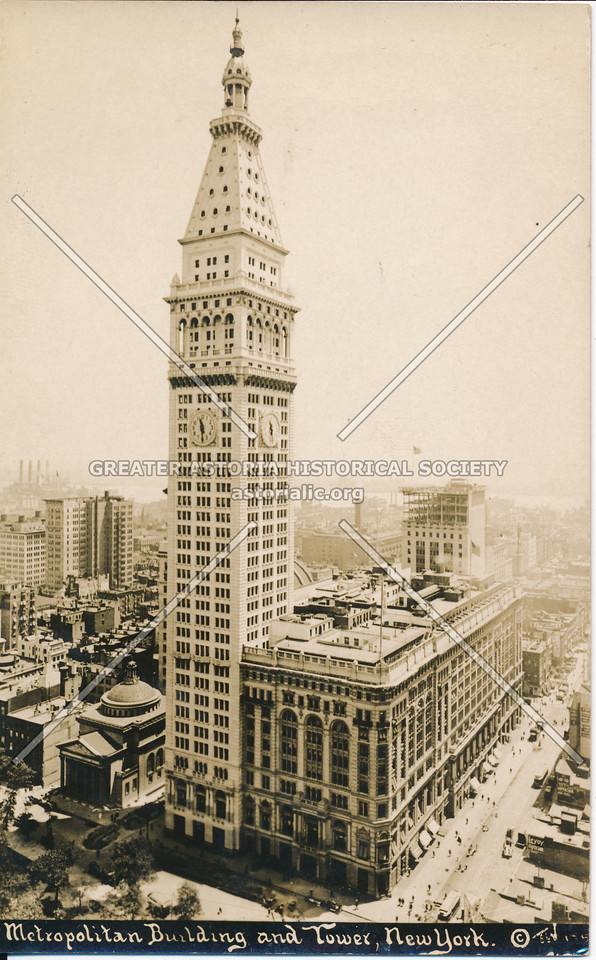 Metropolitan Building & Tower, N.Y.