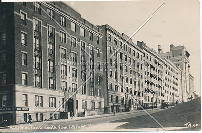 Riverside Drive, South from 127th St., N.Y.