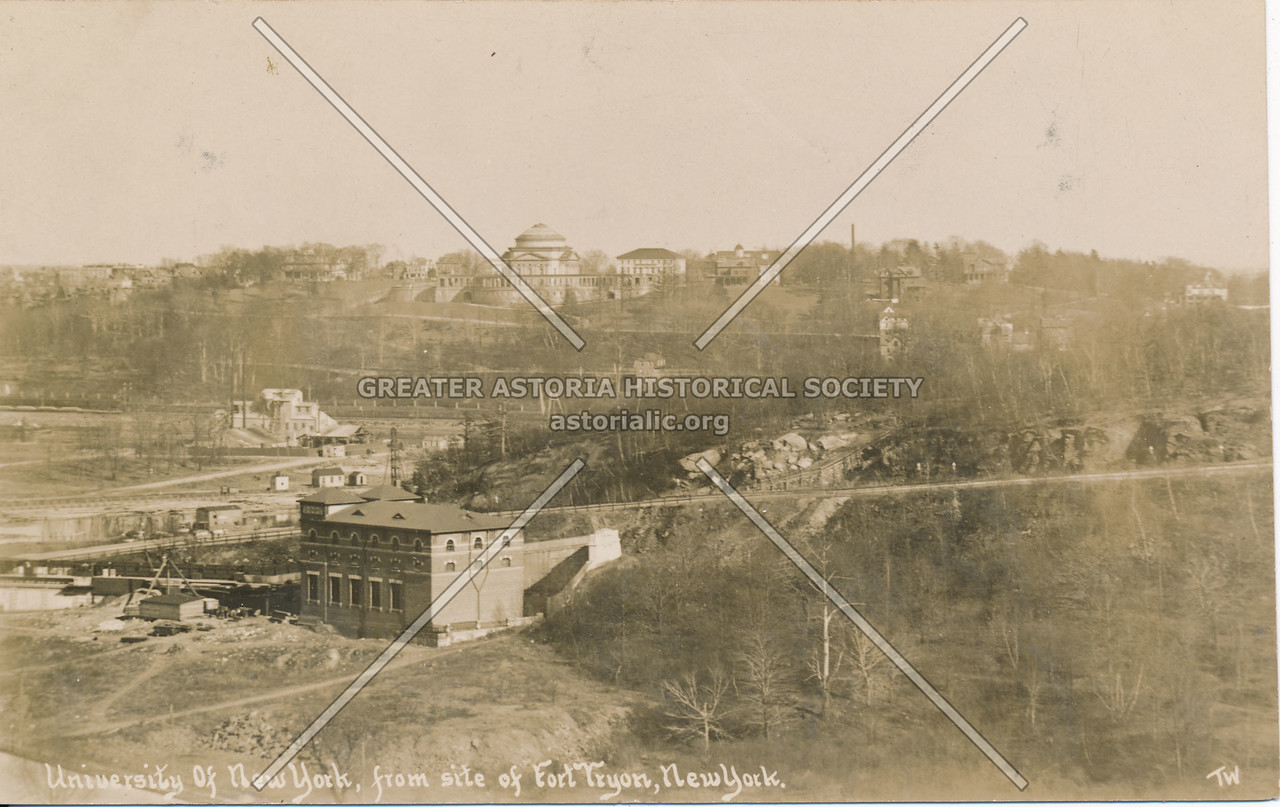 University of New York, from Fort Tyron, N.Y.