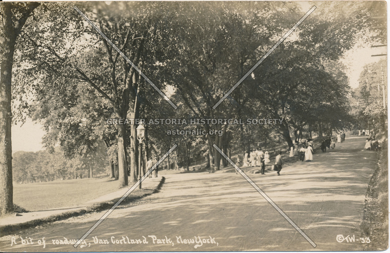 A bit of Roadways, Van Cortland Park, N.Y.