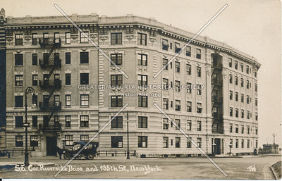 S.E. Cor., Riverside Drive & 135th St., N.Y.