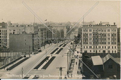 Three Miles of Broadway, South from American League Park, N.Y.