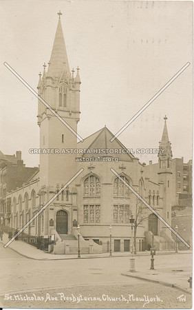 St. Nicholas Ave., Presbyterian Church, N.Y.