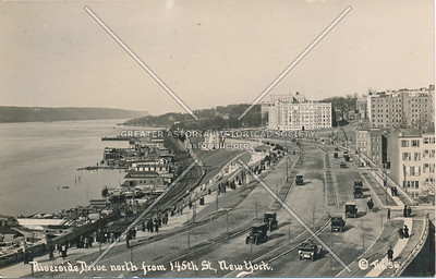 Riverside Drive, North from 145th St., N.Y.