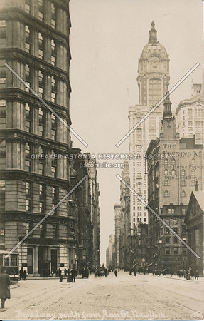 Broadway, South from Ann St., N.Y.