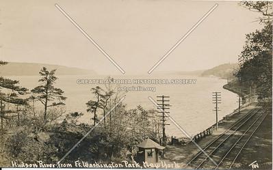 Hudson River from Fort Washington Park, N.Y.