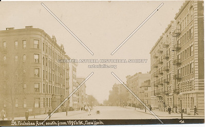 St. Nicholas Ave, South from 159th St., N.Y.