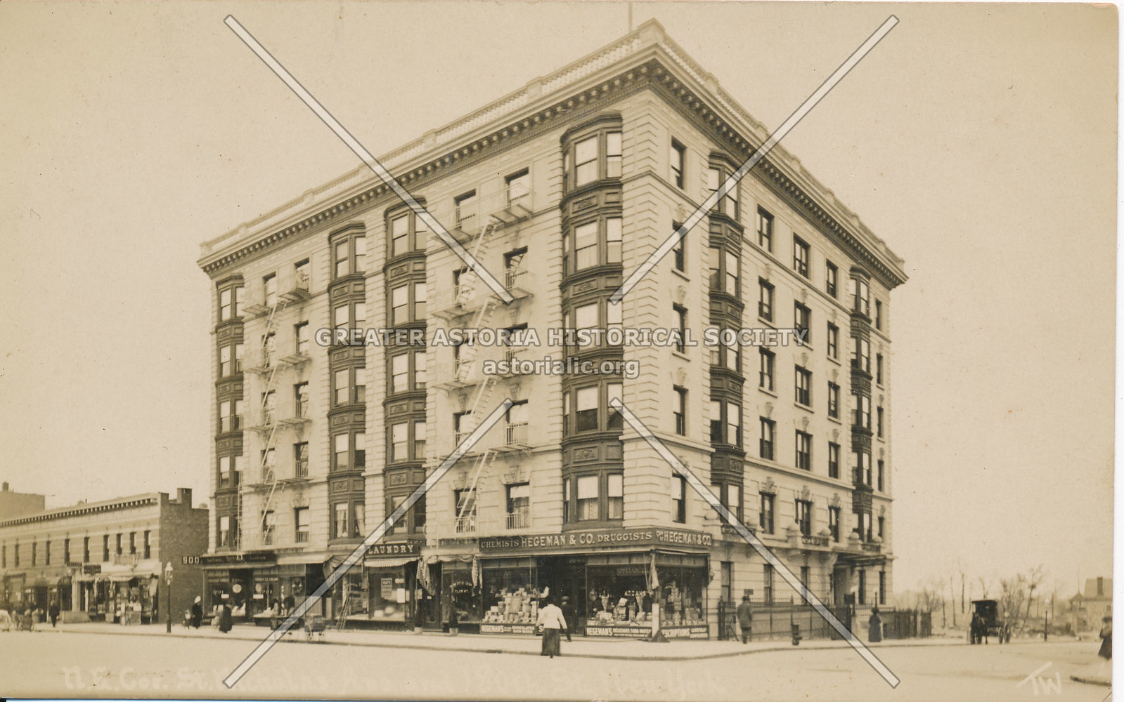 N.E. Cor., St. Nicholas Ave & 180th St., N.Y.
