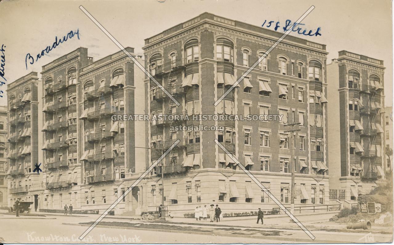 Knowlton Court, Broadway & 158th St., N.Y.