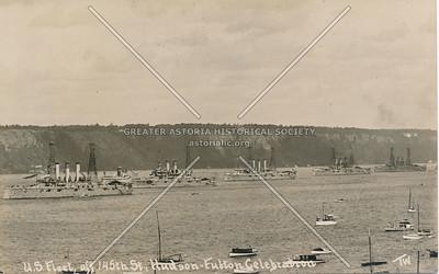 U.S. Fleet, off 145th St., Hudson-Fulton Celebration, N.Y.