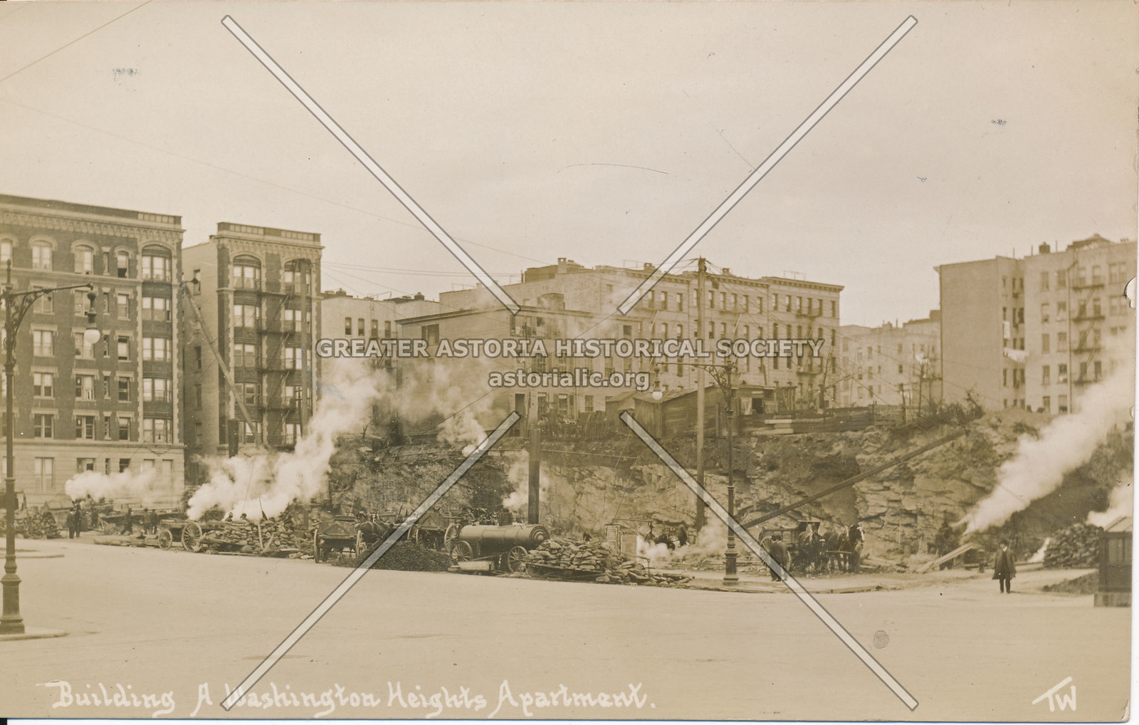 Building a Washington Heights Apartment, N.Y.
