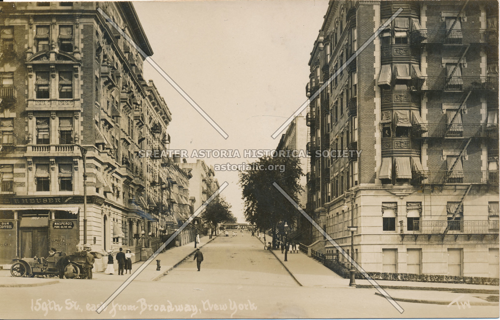 159th St., East from Broadway, N.Y.