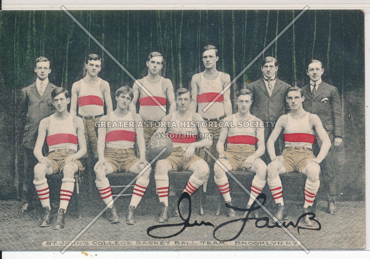 St. John's College Basketball Team, Bklyn