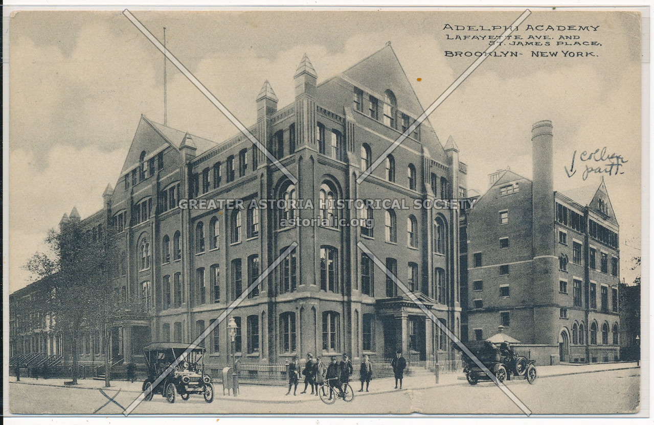 Adelphi Academy, Lafayette Ave. and St. James Place, Bklyn