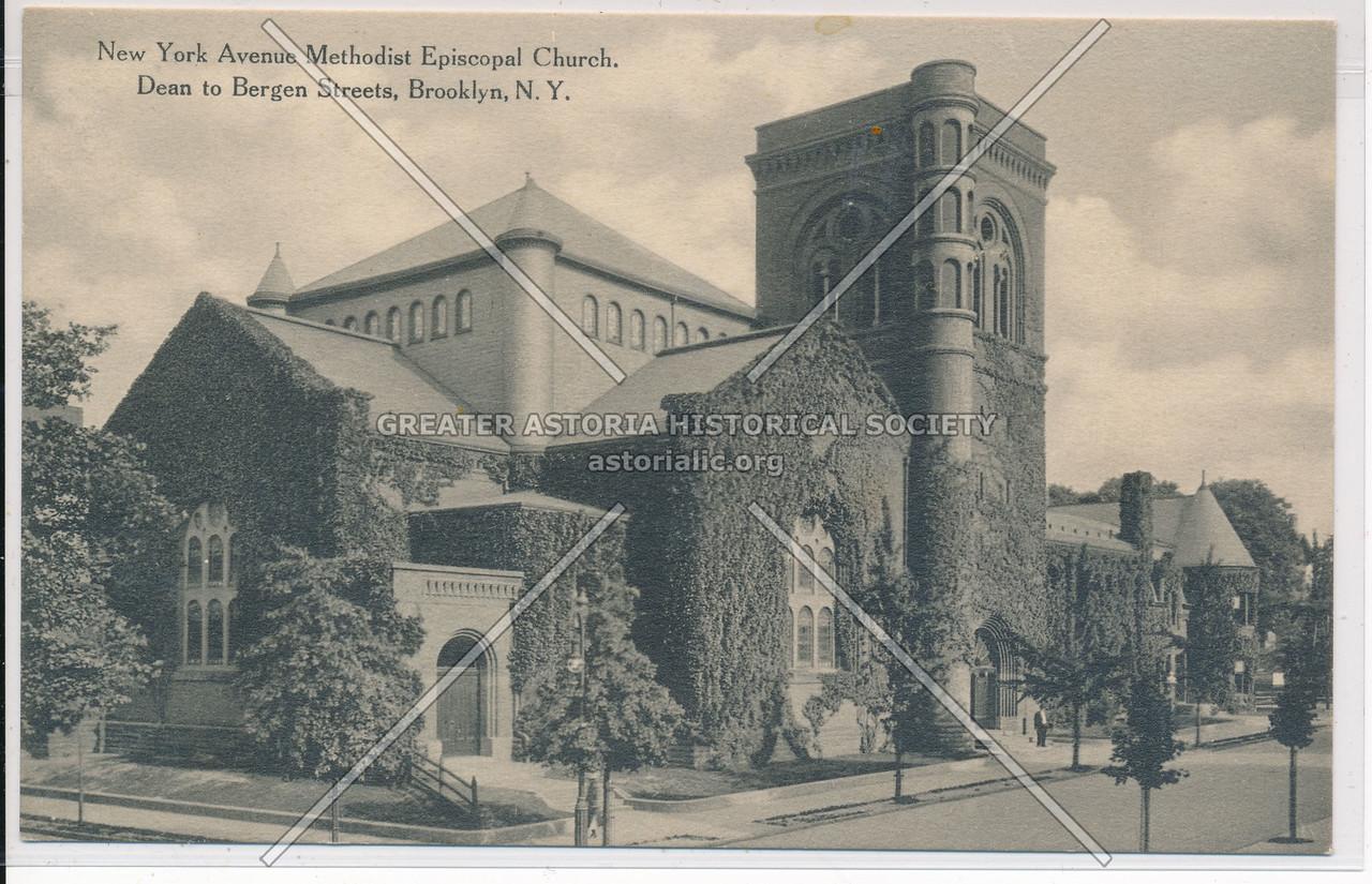 NY Ave. Methodist Episcopal Church, Dean to Bergen St., Bklyn