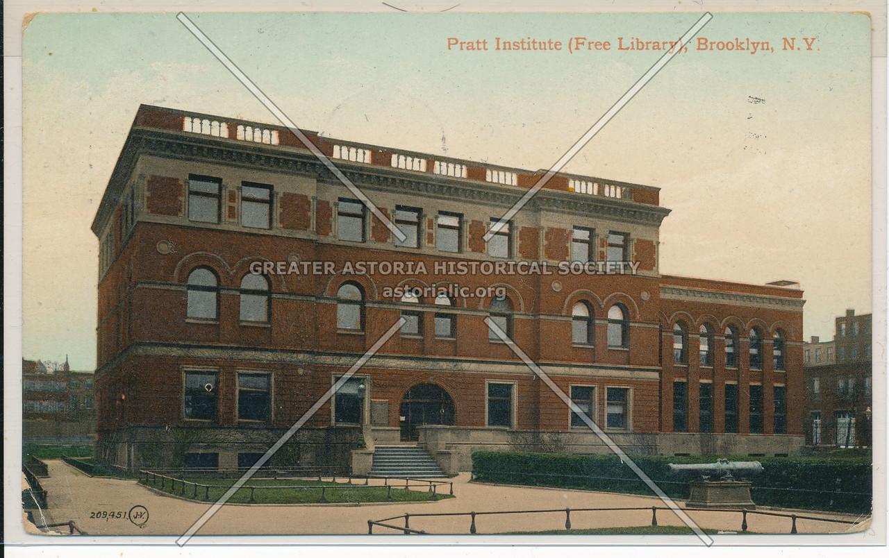 Pratt Institute Free Library , Bklyn