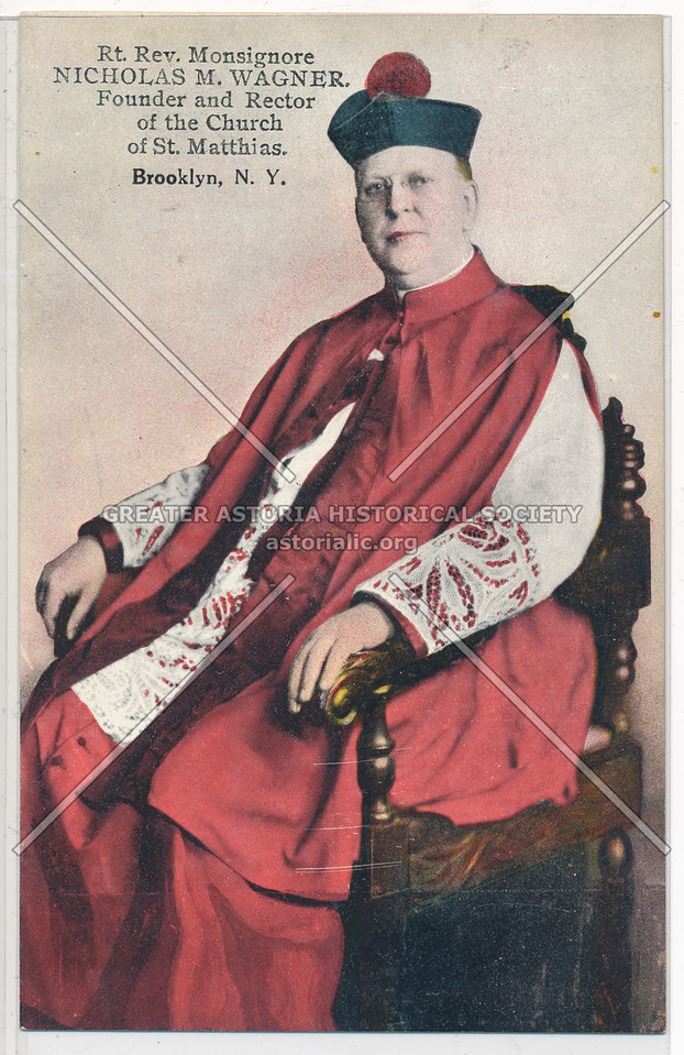Rev. Monsignore Nicholas M. Wagner, Bklyn