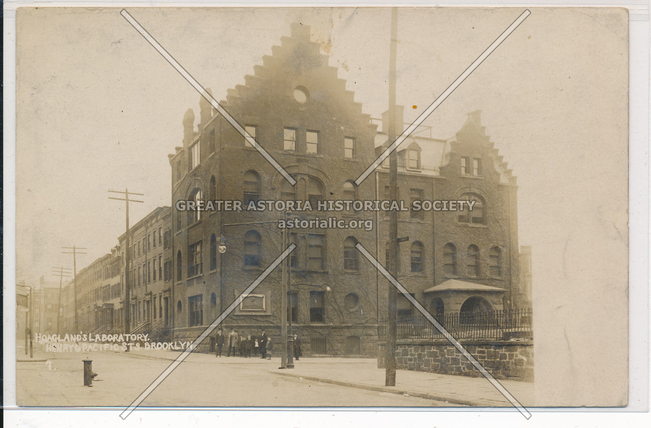 Hoagland's Laboratory, Henry & Pacific Streets, Bklyn