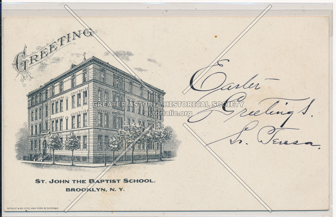 St. John the Baptist School, Bklyn