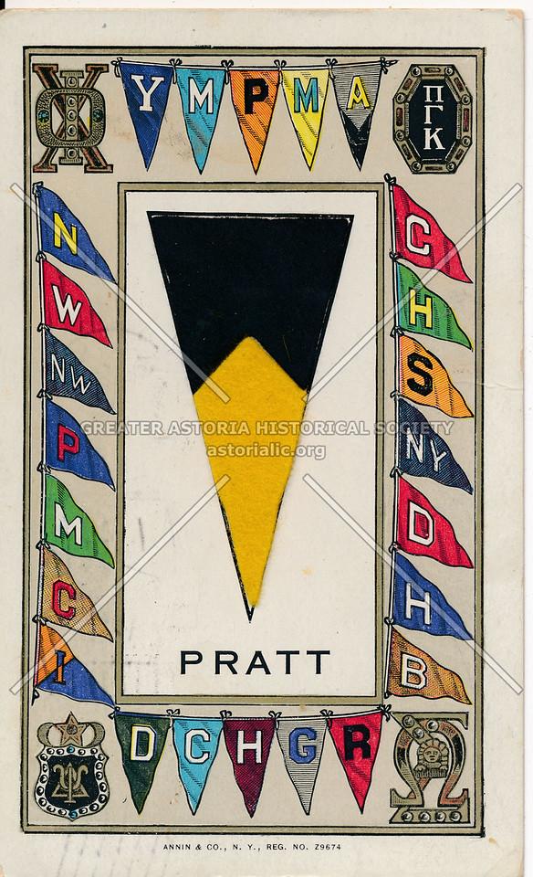 Pratt Institute Flag