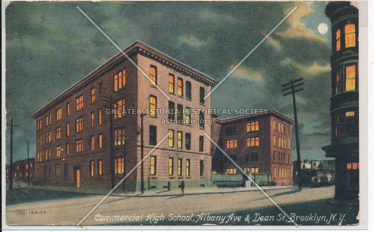Commerical HS, Albany Ave. & Dean St. Bklyn