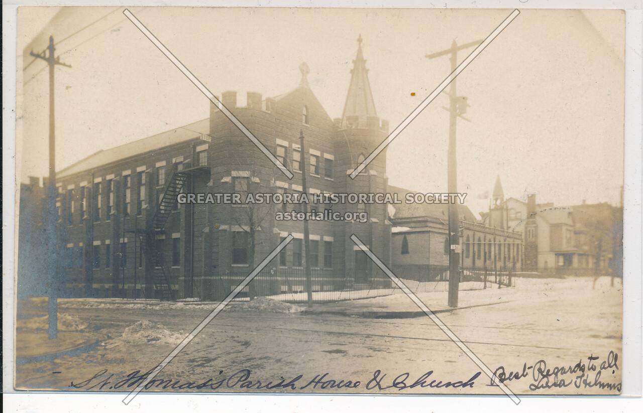 St. Thomas's Parish House and Church, Bushwick & Cooper Ave, Bklyn