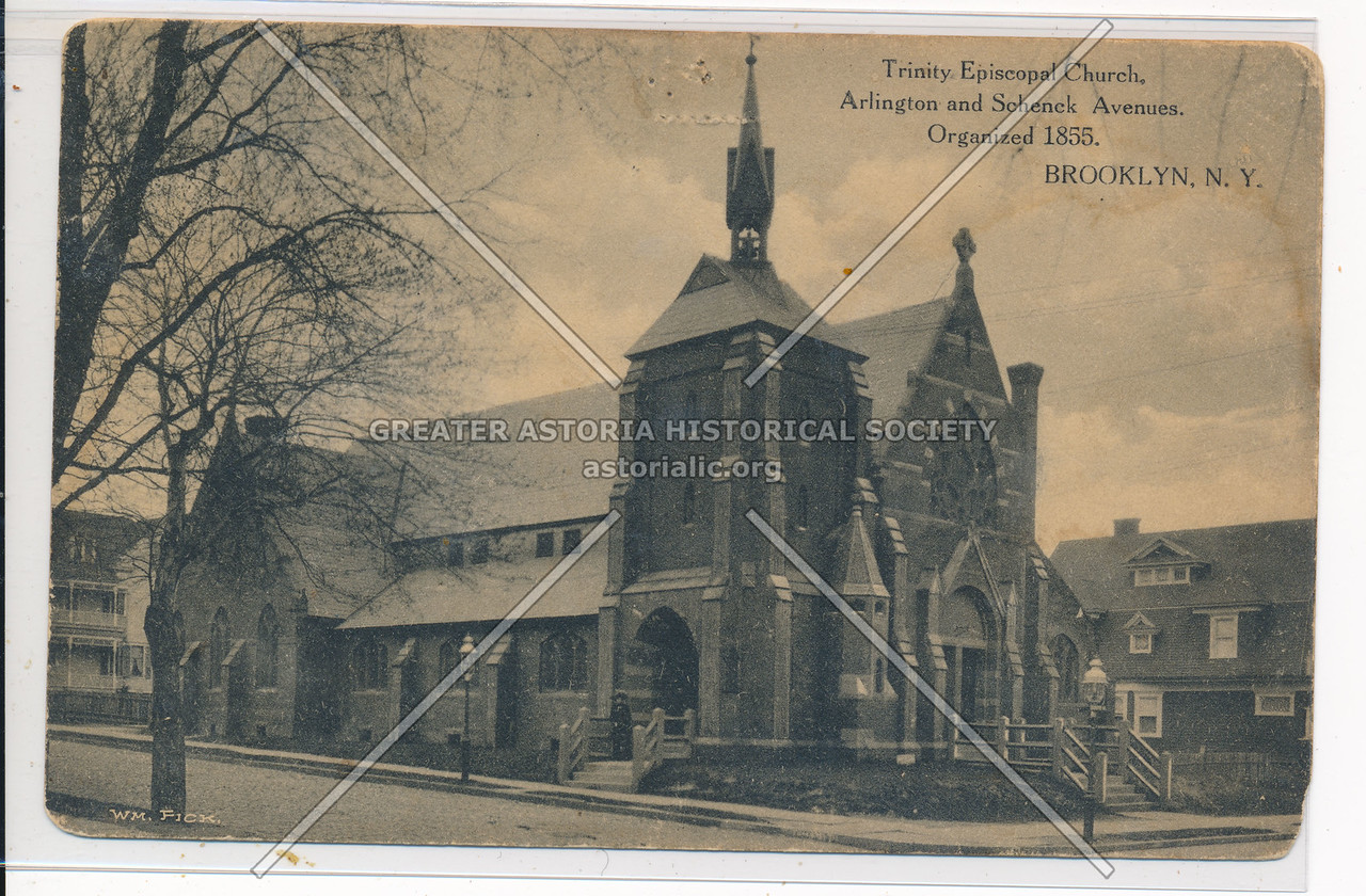 Trinity Episcopal Church, Arlington and Schenck Ave., Bklyn