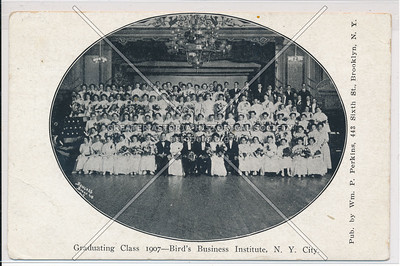 Bird's Business Institute Class of 1907