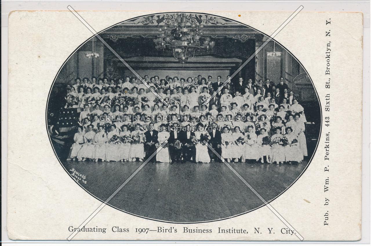 Bird's Business Institute Class of 1907