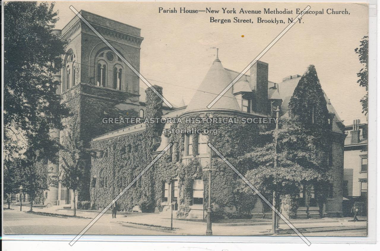 NY Ave. Methodist Episcopal Church, Parish House, Bergen St., Bklyn