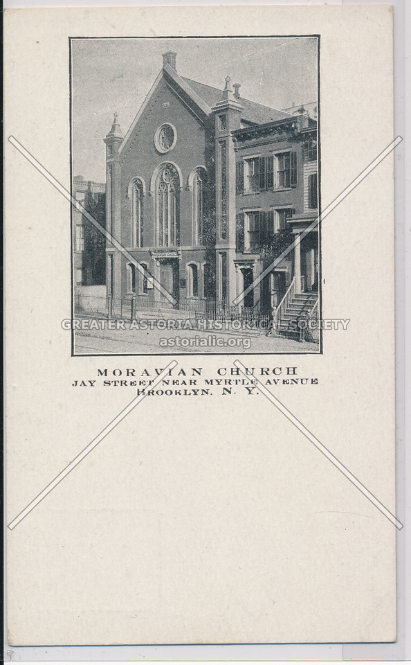 Moravian Church, Jay St. near Myrtle Ave., Bklyn