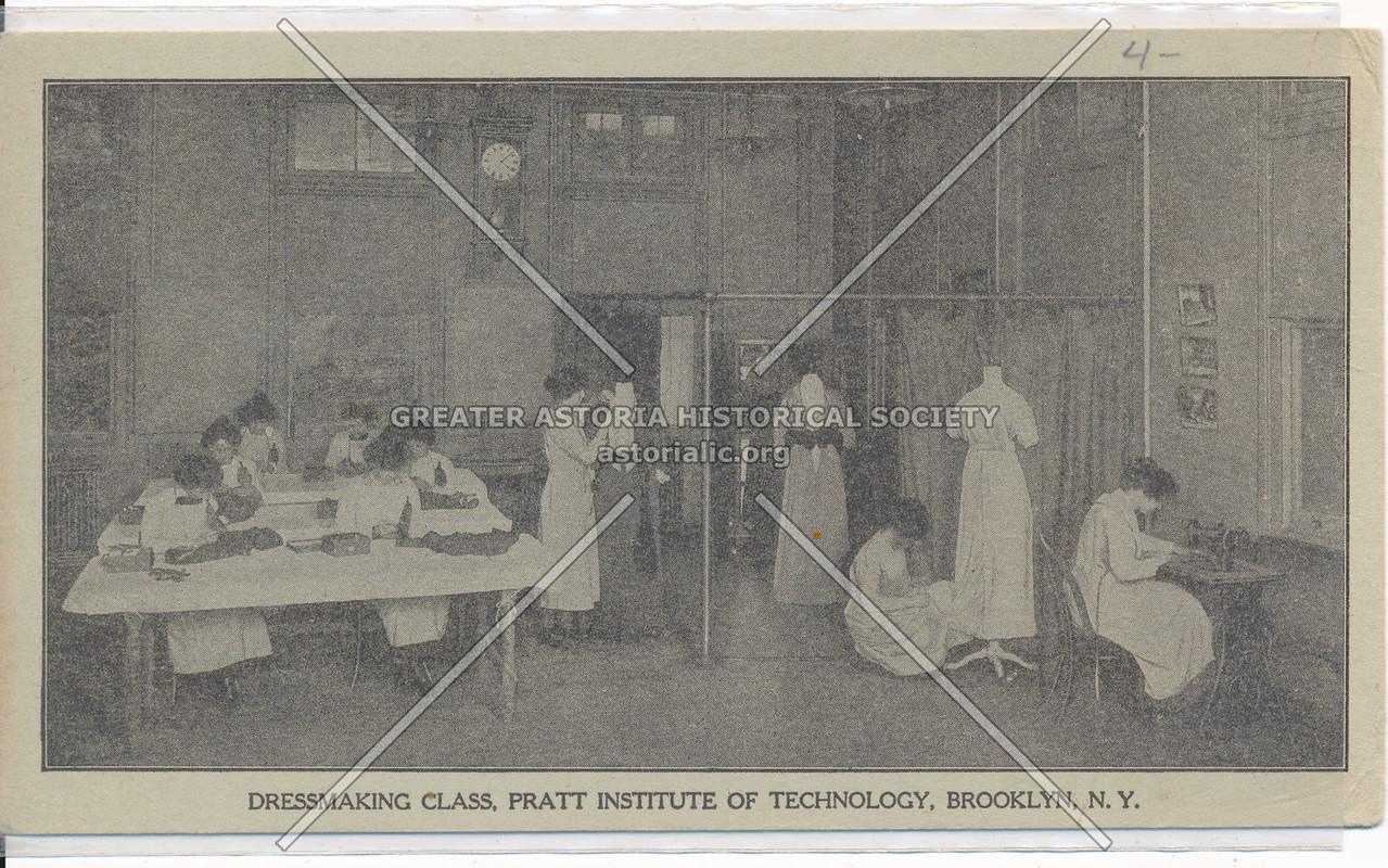 Pratt Institute Dressmaking Class, Bklyn