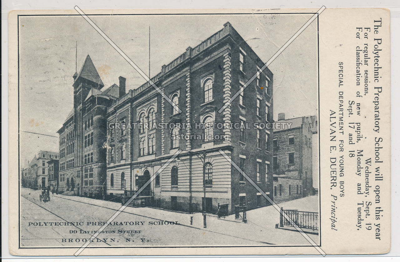 Polytechnic Prep School 99 Livingston St., Bklyn