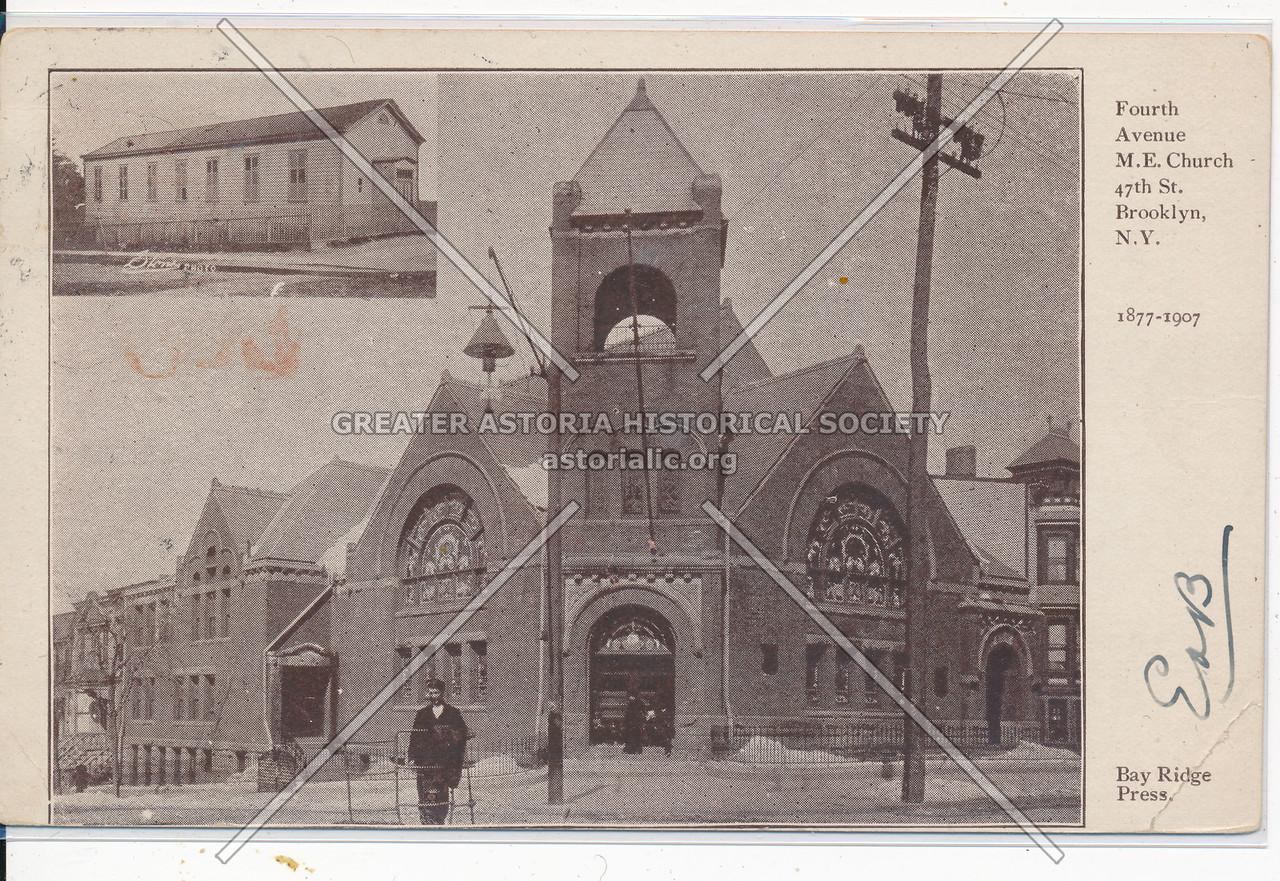 Fourth Ave. M.E. Church, 47th St., Bklyn