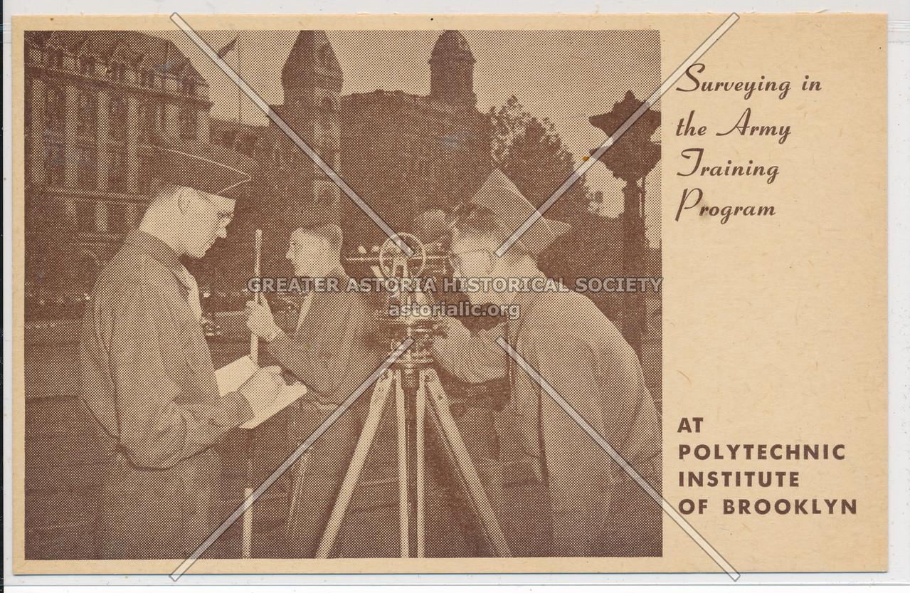 Polytechnic Institute Army Training Program, Bklyn