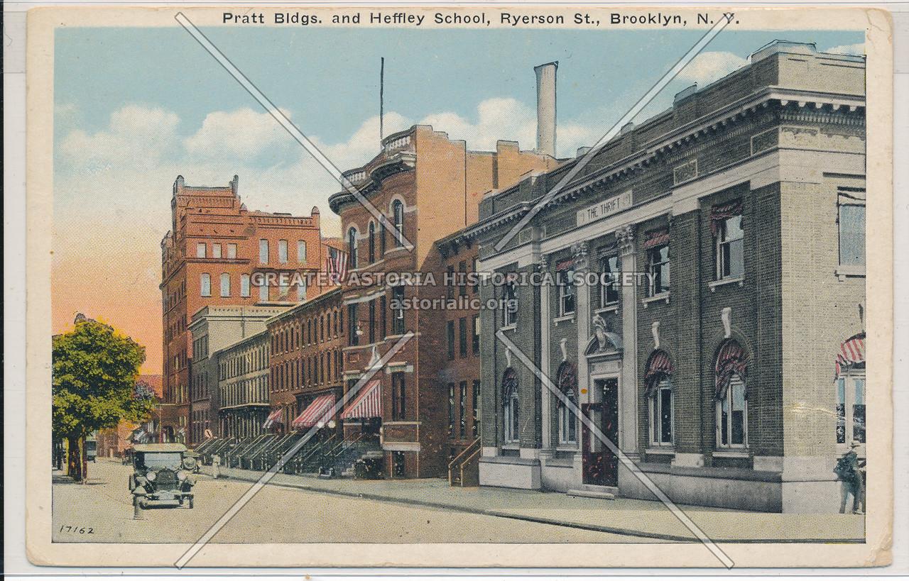 Pratt Buildings and Heffley School, Ryerson St., Bklyn
