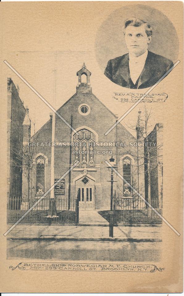 Bethelship Norwegian M.E. Church 297-299 Carroll St., Bklyn