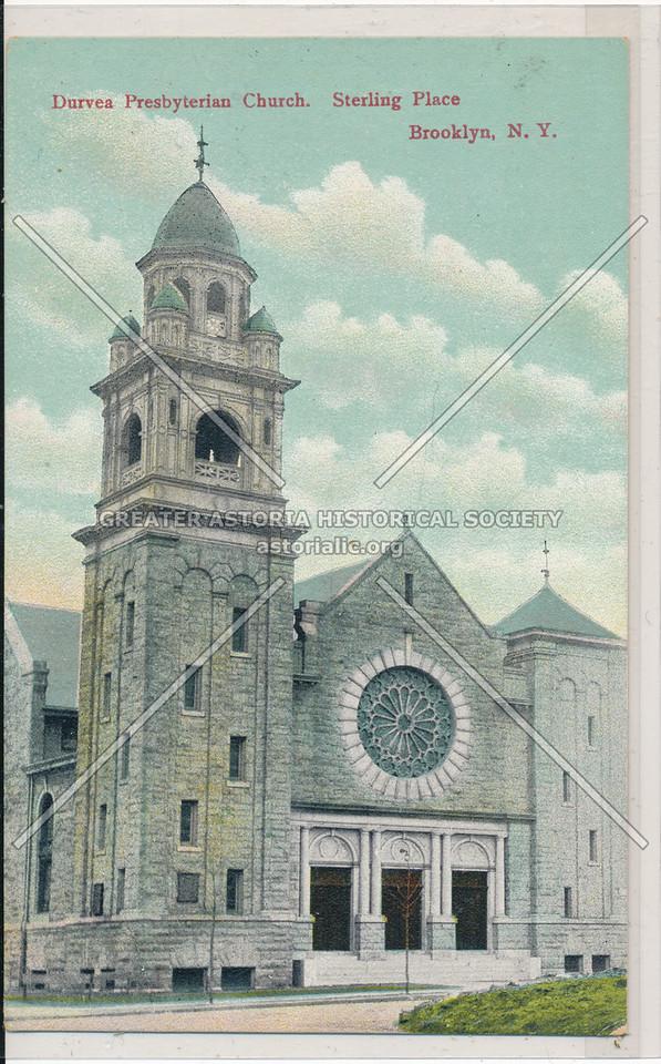 Duryea Presbyterian Church, Sterling Place, Bklyn