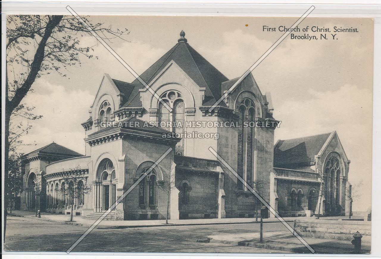 First Church of Christ, Scientist, Bklyn