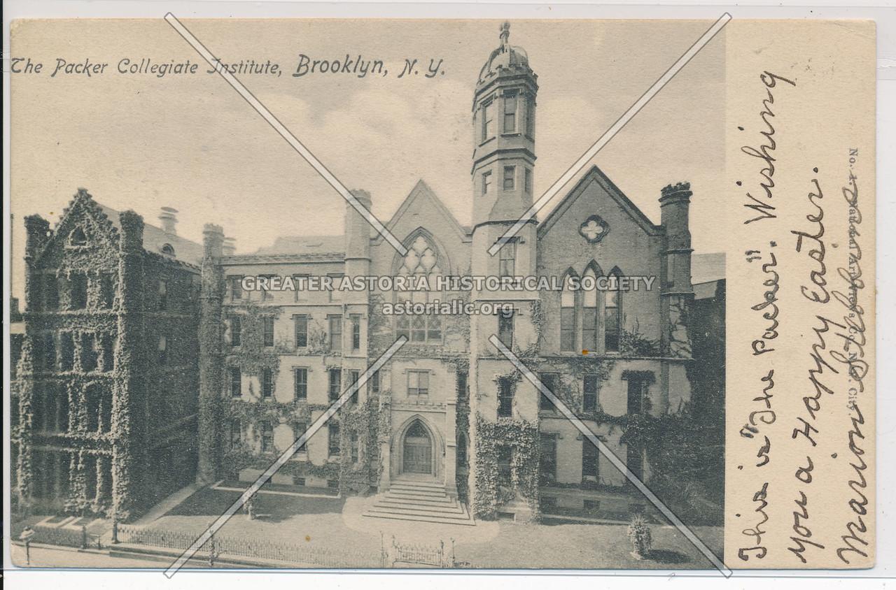 The Packer Collegiate Institute, Bklyn