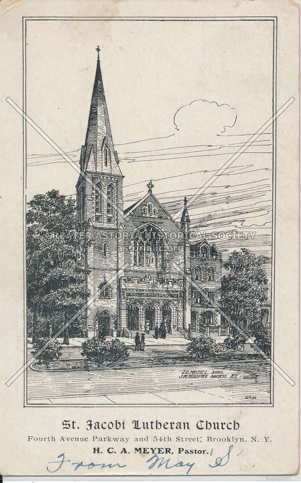 St. Jacobi Lutheran Church, 4th Ave Parkway and 54th St., Bklyn